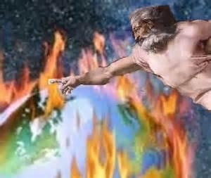 god and global warming