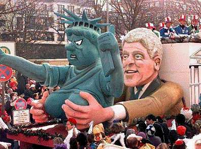 Bill-Clinton-groping-Statue-of-Liberty
